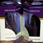 Verpackung der Schokoladen Frauenkirche
